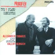 Prokofiev: The Five PIano Concertos Songs