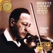 Schubert: Trio, D. 929; Brahms: Trio, Op. 87 Songs