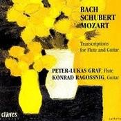 Transcriptions for Flute & Guitar: Bach / Schubert / Mozart Songs
