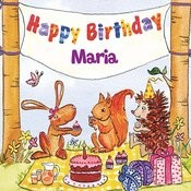 Happy Birthday Maria Songs