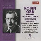 Robin Orr - Centenary Tribute Songs
