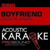 Boyfriend (In The Style Of Justin Bieber) [Karaoke Version] Songs