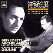 Mozart: Piano Concertos Nos. 20 & 23 Songs
