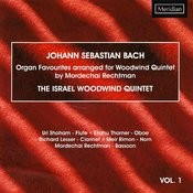 Bach: Organ Favourites Arranged For Woodwind Quintet Songs
