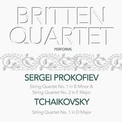 Britten Quartet Performs Sergei Prokofiev & Tchaikovsky String Quartet No.1. & 2. Songs