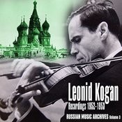 Russian Music Archives, Volume 3 (Recordings 1952 - 1953) Songs