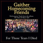 For Those Tears I Died Performance Tracks Songs