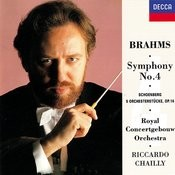 Brahms: Symphony No.4 / Schoenberg: 5 Orchestral Pieces Songs