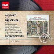 Mozart: Requiem; Bruckner: Te Deum Songs