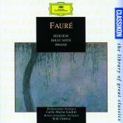 Faure Requiem Op 48 Pavane Op 50 Elegie Op 24 Apres Un Reve Op 7 Songs