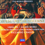Verdi Messa Solenne Libera Me Sacred Works Five World Premieres Songs