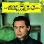 Mozart: Piano Sonatas K.283 & K.331; Fantasia K.397 Songs