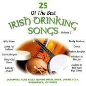 25 Of The Best Irish Drinking Songs: Vol.2 Songs