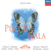 Puccini Gala Songs