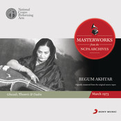 Masterworks from the NCPA Archives: Begum Akhtar Songs