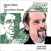 Wolfgang Amadeus Mozart: Duos Kv 423 & Kv 424 - La Flûte Enchantée (Transcriptions Pour Flûte Et Alto) Songs