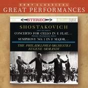 Shostakovich: Symphony No. 1 & Cello Concerto Songs