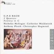 Bach, C.P.E.: 3 Quartets/Fantasy in C Songs