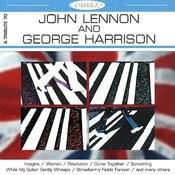 A Tribute To J.Lennon & G.Harrison Songs
