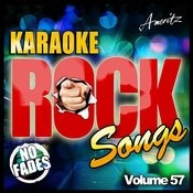 Karaoke - Rock Songs Vol. 57 Songs