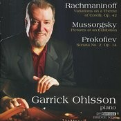 Ohlsson: Rachmaninoff, Prokofiev And Mussorgsky Songs