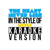 The Heart Never Lies (In The Style Of Mcfly) [Karaoke Version] - Single Songs