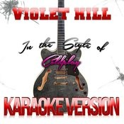 Violet Hill (In The Style Of Coldplay) [Karaoke Version] - Single Songs