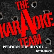 The Karaoke A Team Perform The Hits Of David Bowie Songs