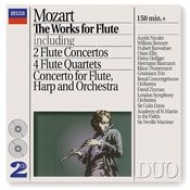 Mozart: The Works for Flute Songs