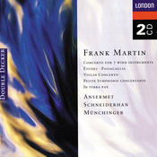 Martin: Petite Symphonie Concertante; Violin Concerto; In Terra Pax, Etc. (2 Cds) Songs