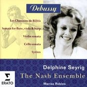 Debussy - Chamber & Vocal Music Songs