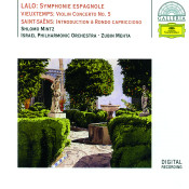Lalo Symphony Espagnole Vieuxtemps Violin Concerto No 5 Saint Saens Introduction Songs
