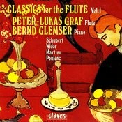 Classics For Flute, Vol. I Songs