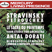 Stravinsky: Petrouchka; The Rite of Spring; 4 Etudes Songs