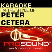 Glory Of Love (Karaoke Instrumental Track)[In The Style Of Peter Cetera] Song