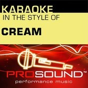 Sunshine Of Your Love (Karaoke Lead Vocal Demo)[In The Style Of Cream] Song