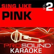 Glitter In The Air (Karaoke Instrumental Track)[In The Style Of Pink] Song