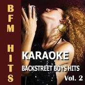 Karaoke Backstreet Boys Hits, Vol. 2 Songs