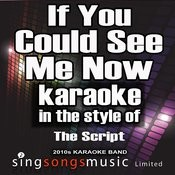 If You Could See Me Now (In The Style Of The Script) [Karaoke Version] - Single Songs