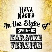 Hava Nagila (In The Style Of Sputnicks) [Karaoke Version] - Single Songs