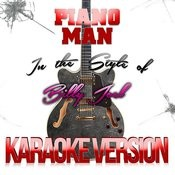 Piano Man (In The Style Of Billy Joel) [Karaoke Version] - Single Songs