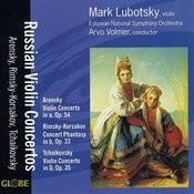 Russian Violin Concertos Songs