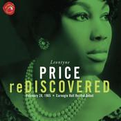 Leontyne Price Rediscovered Carnegie Hall Recital Songs