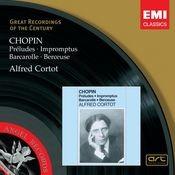 Chopin: Préludes, Impromptus, Barcarolle, Berceuse Songs