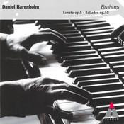 Brahms : 4 Ballades op.10 & Piano Sonata op.5 in F minor - Elatus Songs