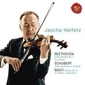 Beethoven: Violin Sonata No. 7 In C Minor; Schubert: Violin Sonatina In G Minor; Bach: Partita No. 2 In D Minor, Chaconne Songs