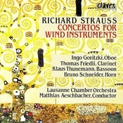 Richard Strauss/ Concertos For Wind Instruments Songs