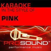 Get The Party Started (Karaoke Lead Vocal Demo)[In The Style Of Pink] Song