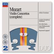 Mozart: Violin Concertos Nos. 1/5 etc. Songs