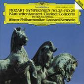 Mozart: Symphonies Nos.25 & 29 / Clarinet Concerto Songs
